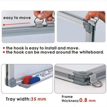 Pachet whiteboard magnetic Foska 4 1