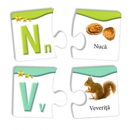 puzzle educativ litere 2