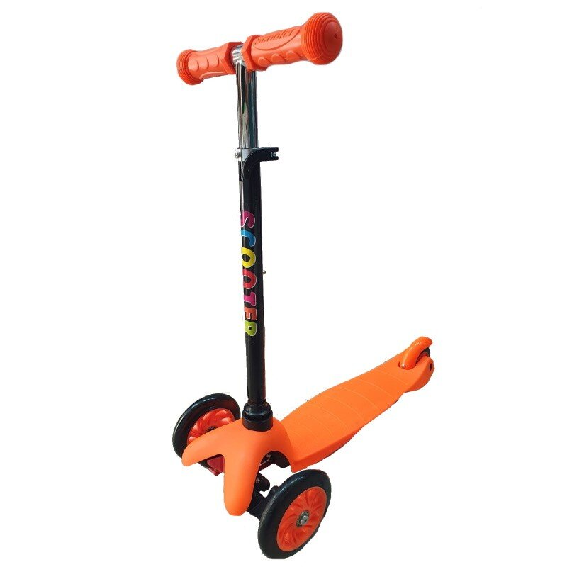 Trotineta copii Scooter portocaliu simplu