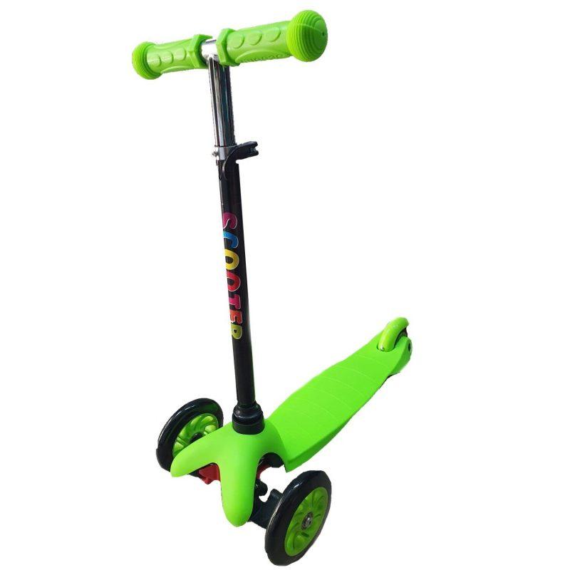 Trotineta copii Scooter verde simpla
