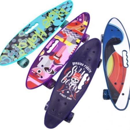 penny board cruise action portabil skateborad cu maner