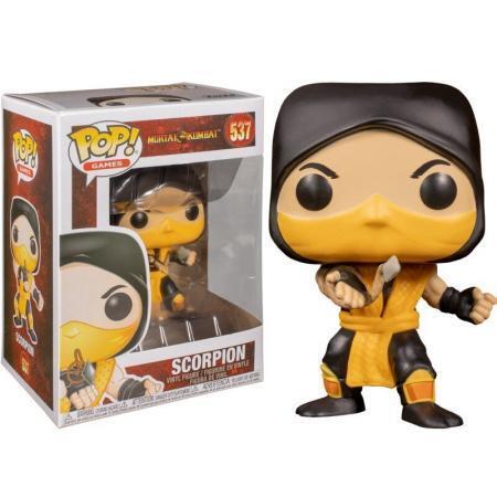 Figurina Pop Mortal Kombat Scorpion 537