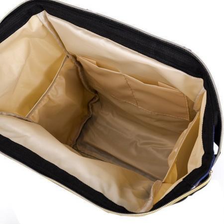 Rucsac geanta multifunctional de umar culoare carucior pentru mamici folositor in organizare accesorii bebelusi copii travel 42x18x27 INTERIOR