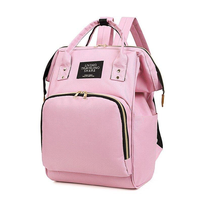 Rucsac geanta multifunctional de umar culoare carucior pentru mamici folositor in organizare accesorii bebelusi copii travel 42x18x27 cm 1