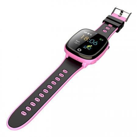 Ceas smartwatch copii SWatch20 roz negru 12