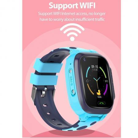 Ceas smartwatch copii SWatch30 albastru 9