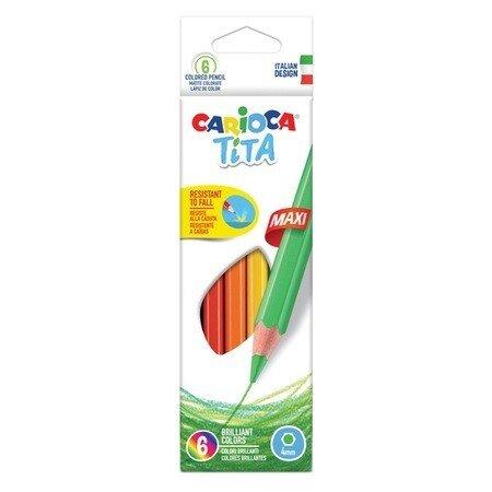 Creioane color Tita Maxi 6 set