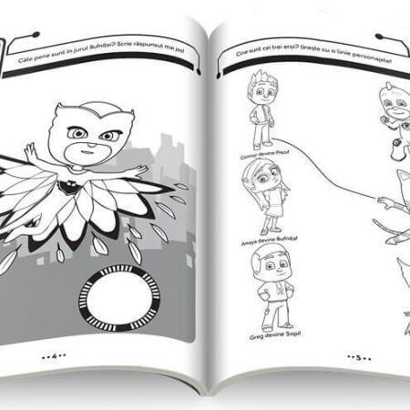 PJ MASK Cartea cu activitati a eroilor 2