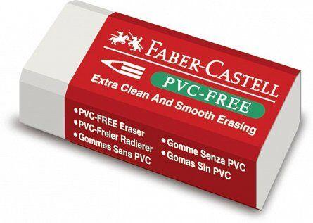 Radiera pvc free Faber Castell