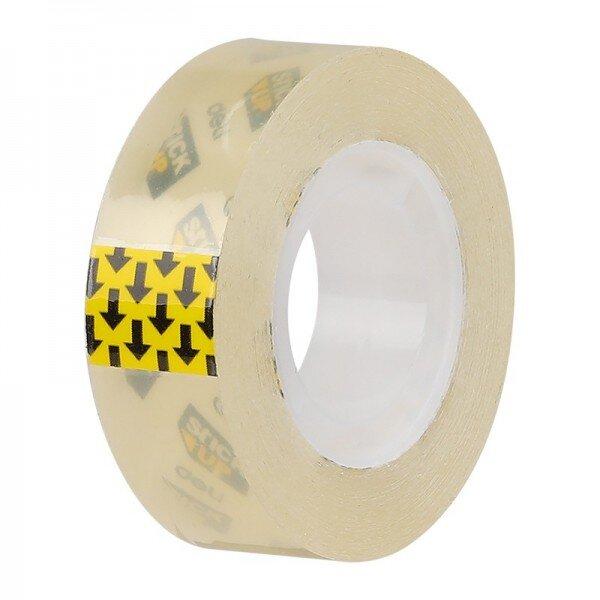 banda adeziva 18 mm x 33 m cutie carton deli 1