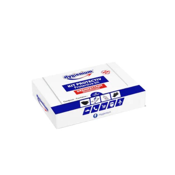Kit protectiv Hygenium mascaserveteledezinfectantmanusi