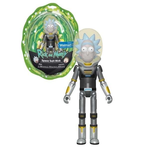 Figurina articulata Funko Pop Rick Morty Costumul spatial Rick