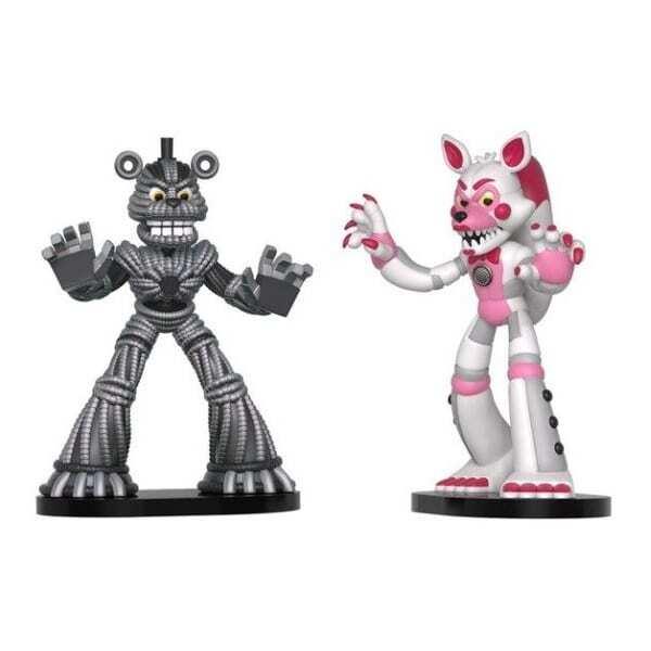 Set 2 figurine Hero World Lolbit Yenndo Five Nights at Freddys FNAF 2