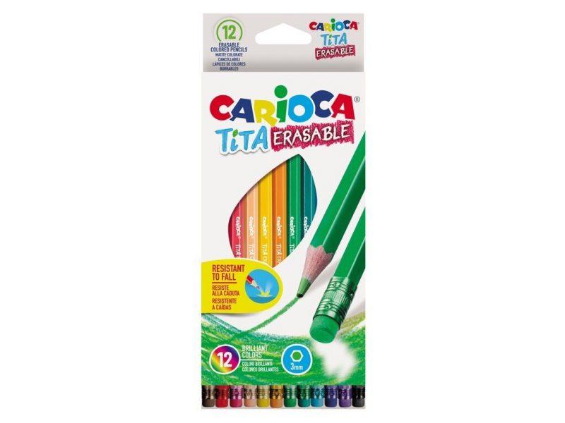 creioane color tita erasable 12