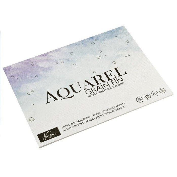 Bloc desen Aquarel A3 20 file 300gmp Nassau Fine art 33