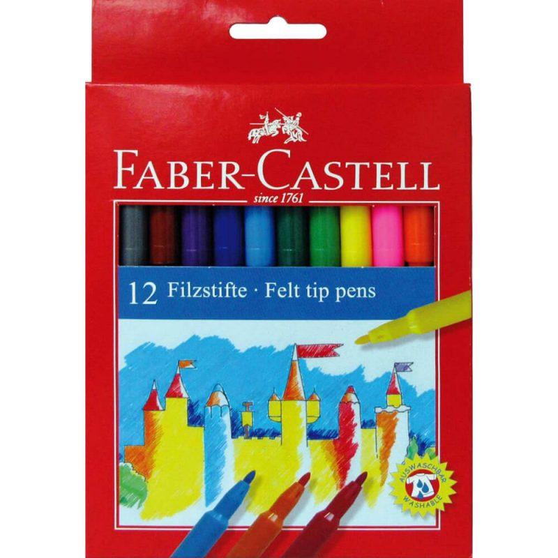 Carioci 12 culori set FABER CASTELL 2000x2000 1