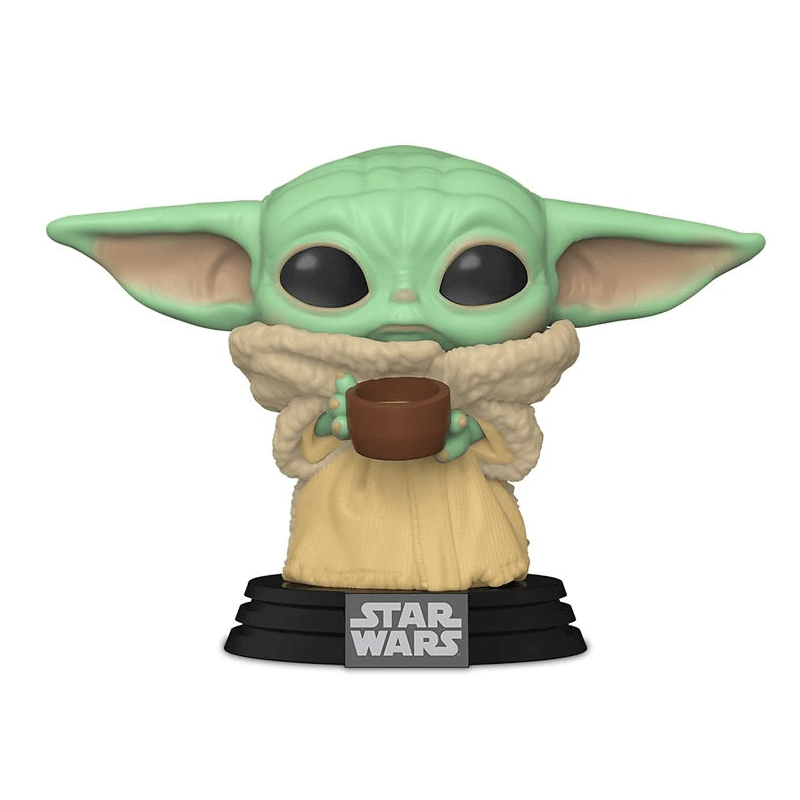 Figurina Pop Star Wars The Mandalorian The Child with cup 1
