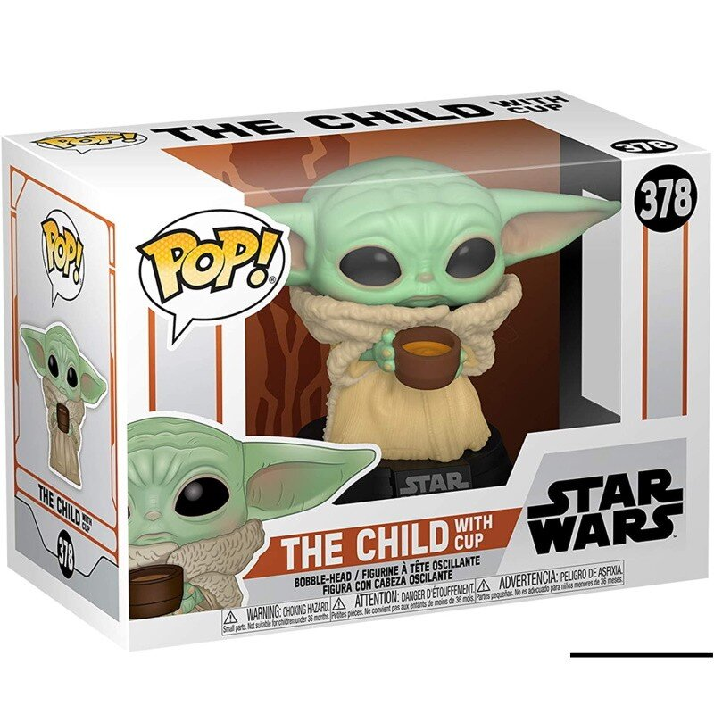 Figurina Pop Star Wars The Mandalorian The Child with cup