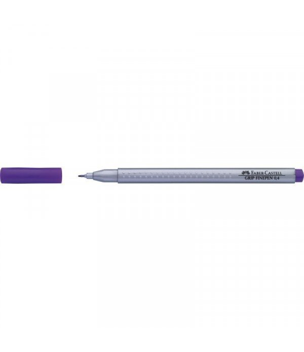 Liner 0.4mm violet Grip Faber Castell