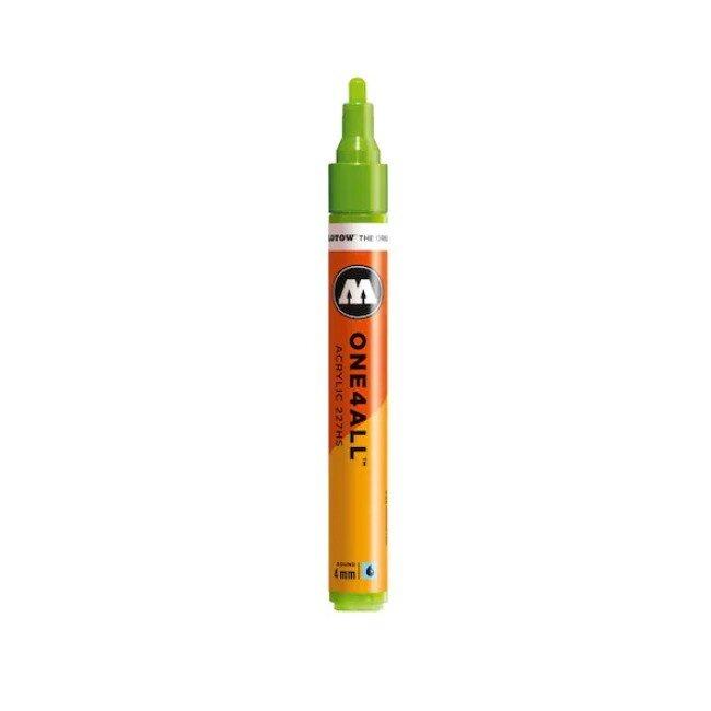 Marker acrilic Molotow ONE4ALL 227HS 4 mm grasshopper