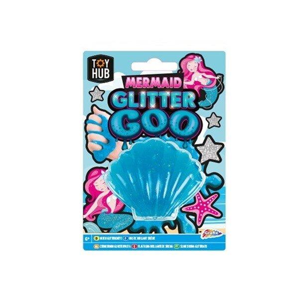 Slime Goo cu sclipici Toy Team albastru