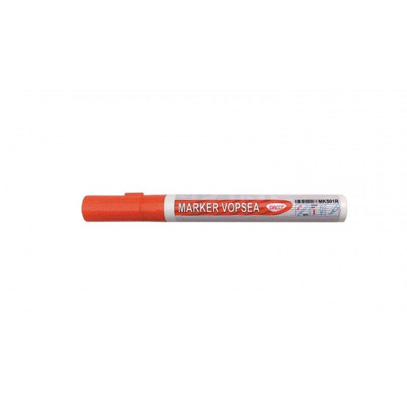 marker vopsea daco portocaliu mk501p