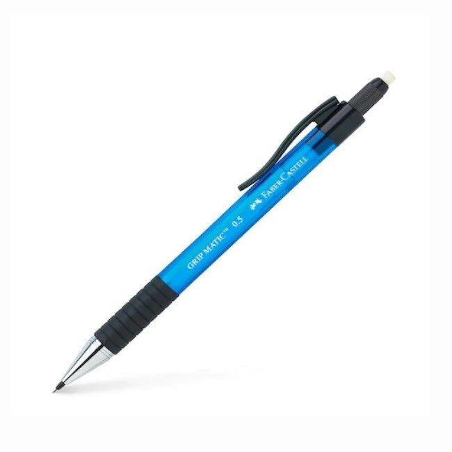 Creion mecanic Faber Castell Grip Matic 1375 0.5 mm Albastru