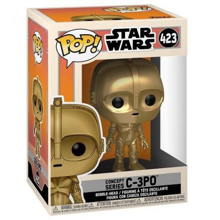 Figurina Pop Star Wars Concept C 3PO 2