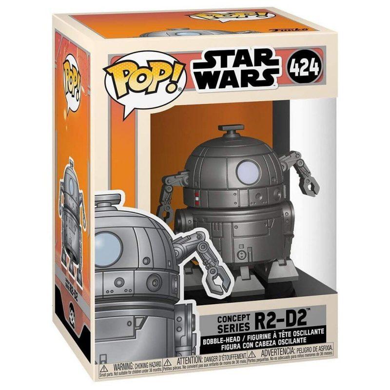 Figurina Pop Star Wars Concept R2 D2 2