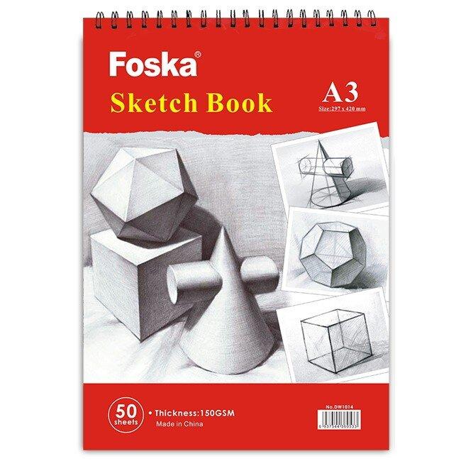 Bloc desen cu spira A3 Foska 150 gr 2