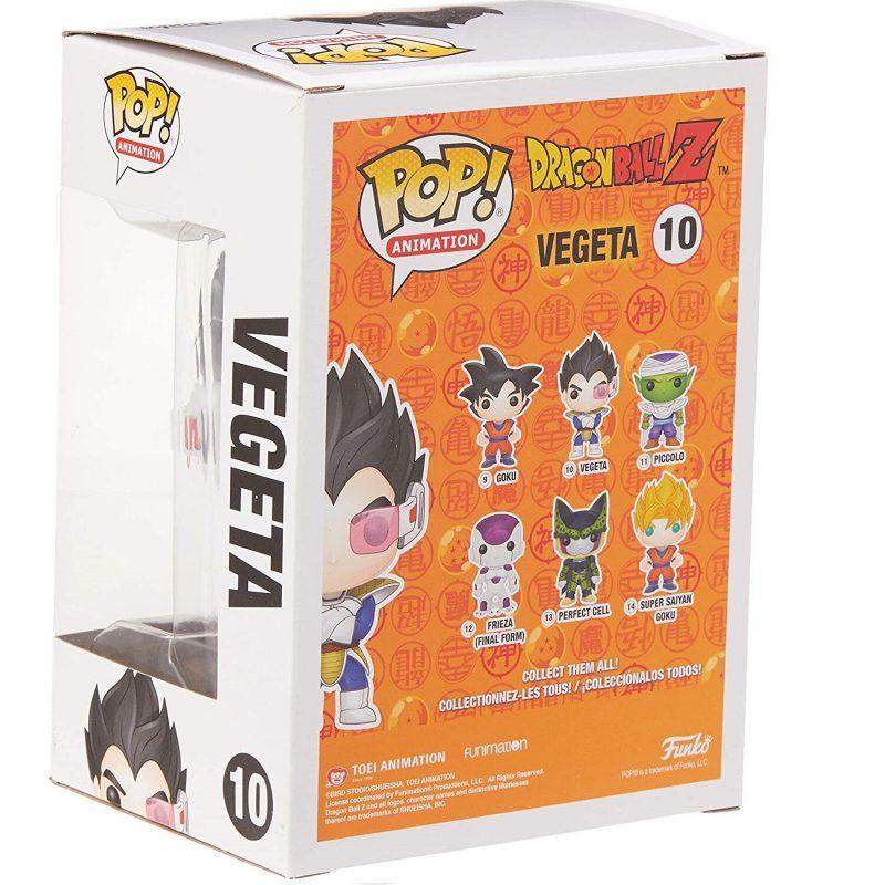 Figurina Pop Drangonball Z Vegeta 4