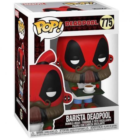 Figurina Pop Marvel Deadpool 30th Coffee Barista 2