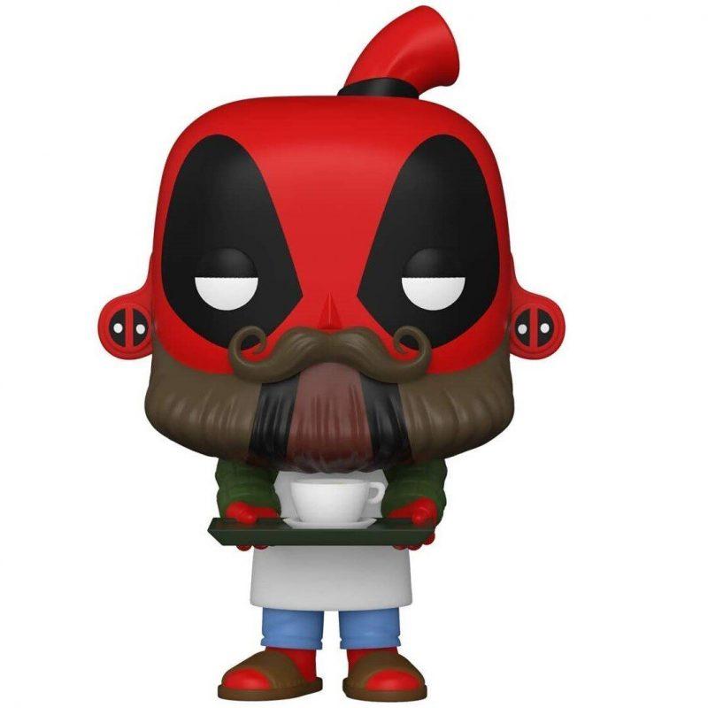 Figurina Pop Marvel Deadpool 30th Coffee Barista