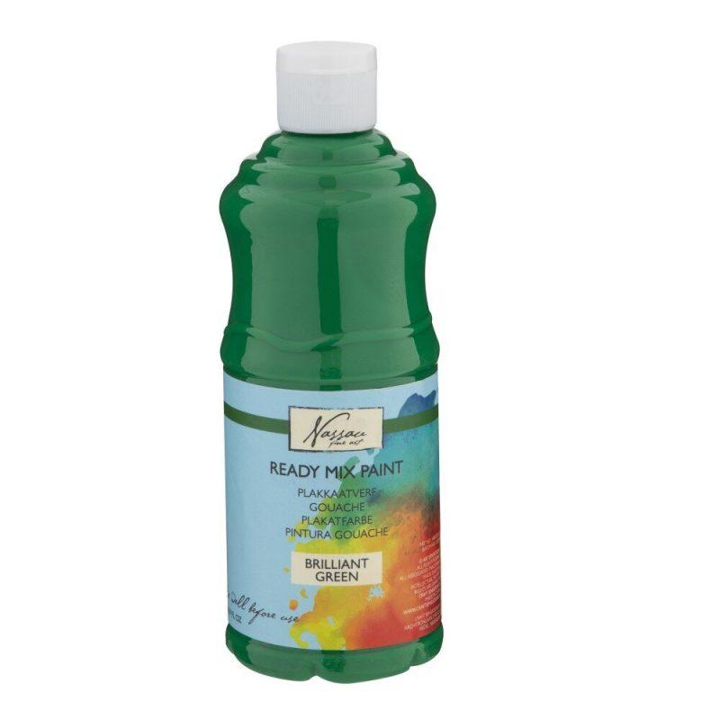 Culori tempera gouache Nassau Fine Art 500 ml verde