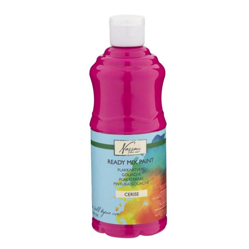 Culori tempera gouache Nassau Finer Art 500 ml roz