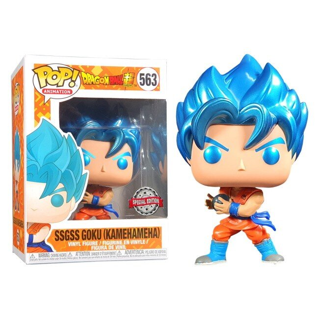 Figurina Pop Dragon Ball Super Goku w Kamehameha 3