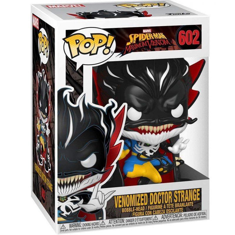 Figurina Pop Marvel Max Venom Dr. Stranger GW fosforescent 11