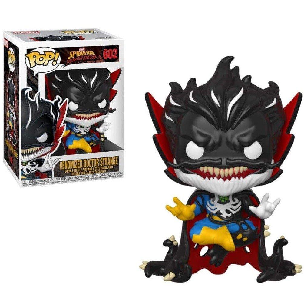 Figurina Pop Marvel Max Venom Dr. Stranger GW fosforescent 34