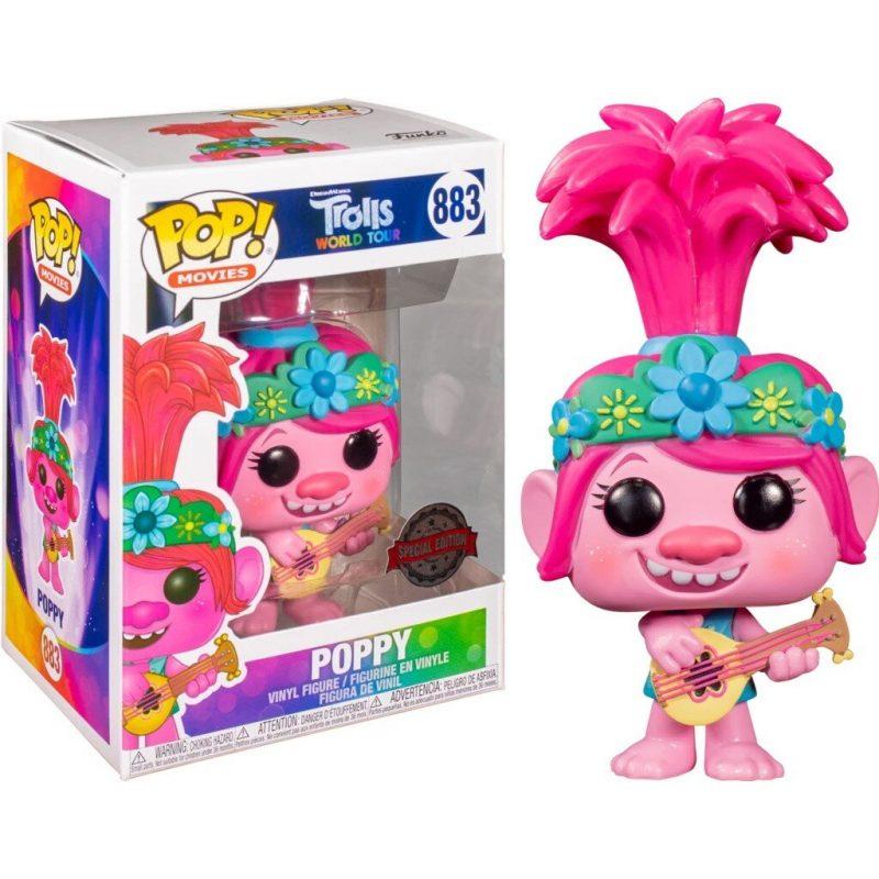 Figurine Pop Trolls World Tour Poppy